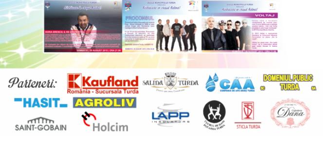 Primăria Turda: Mulțumim sponsorilor și partenerilor de la Zilele Municipiului Turda