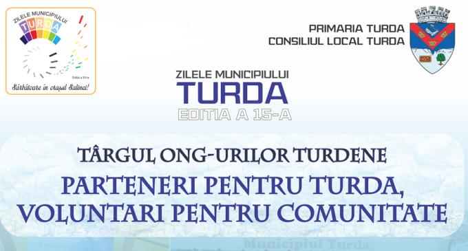 """Târgul ONG-urilor turdene """"Parteneri pentru Turda, voluntari pentru comunitate"""" în cadrul ZMT15"""