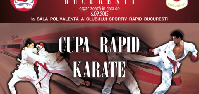 """Samurai Turda va participa la """"Cupa Rapid KARATE"""" de la București"""