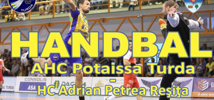 20 septembrie 2015, ora 17:00 –  Potaissa Turda vs. HC Adrian Petrea Resita.