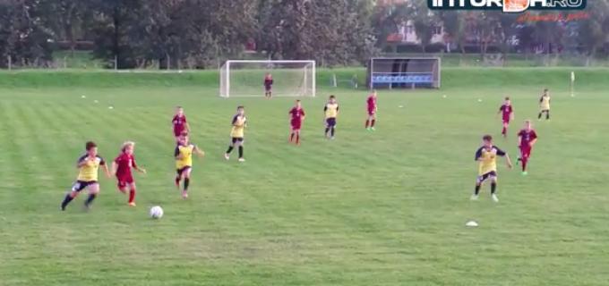 Juniorii de la Sticla Ariesul Turda au castigat meciul cu CFR Cluj