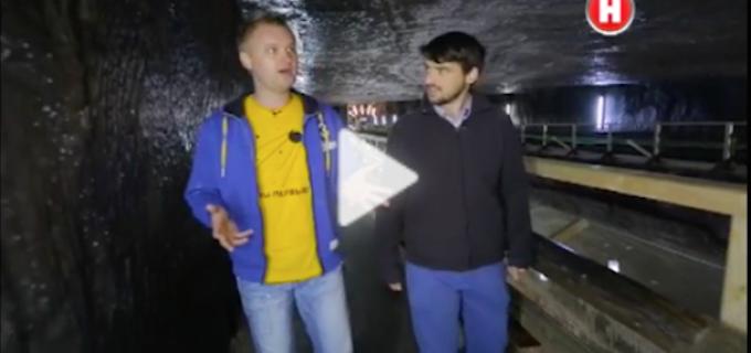 Nauka 2.0, a prezentat integral materialul video filmat la Salina Turda