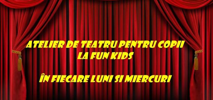 Fun Kids Turda organizeaza regulat atelier de teatru pentru copii