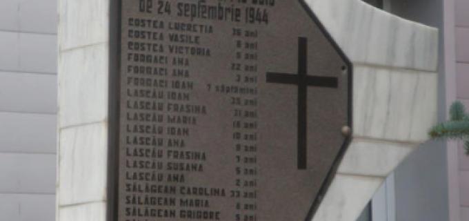 Comemorarea masacrului de la Hârcana va avea loc duminică, 11 Octombrie 2015