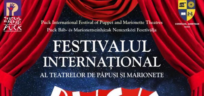 """Festivalul Internaţional al Teatrelor de Păpuşi şi Marionete """"Puck"""", la Cluj:"""