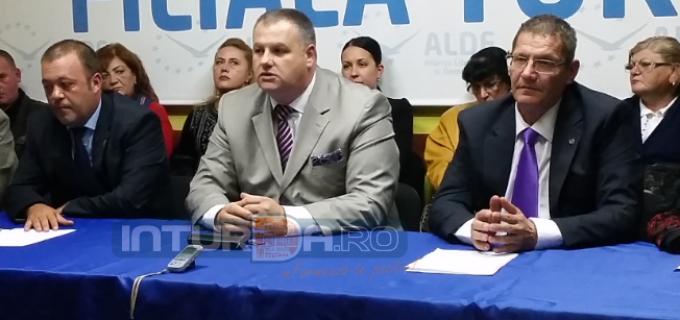 Mircea Irimie a anuntat noua conducere a organizatiei ALDE Turda