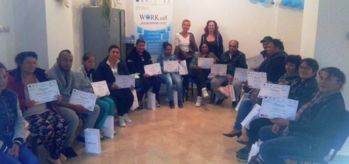 """Atelier de dezvoltare și cunoaștere personală organizat în cadrul proiectului ,,Workcall"""""""