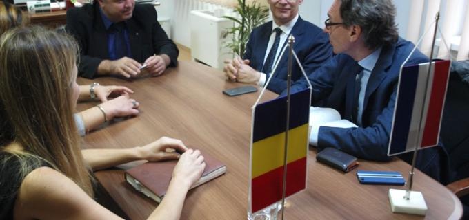 Primire delegaţie olandeză din domeniul agricol la Consiliul Judeţean Cluj