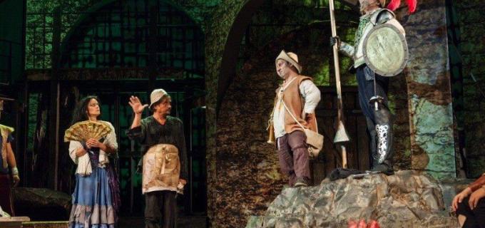 """Teatrul Aureliu Manea: """"Nu rataţi în festival – OMUL DIN LA MANCHA !"""""""