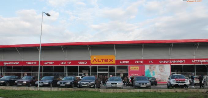 Altex a redeschis magazinele din Cluj, inclusiv cel din Turda