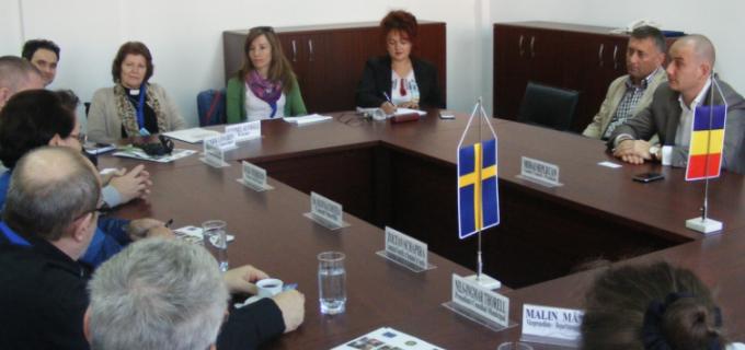 Delegaţie suedeză, în vizită la Consiliul Judeţean Cluj