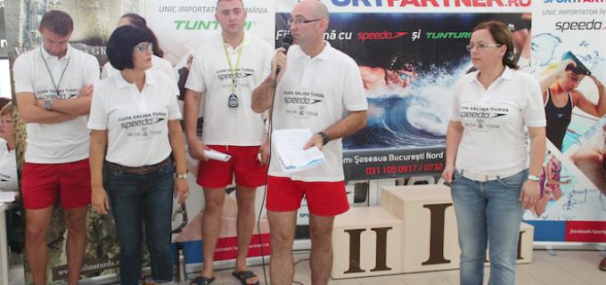 """VIDEO: Deschiderea oficiala a competitiei de natatie """"Cupa Salina Turda"""""""