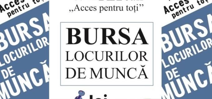 """Bursa Locurilor de Muncă ,,Acces pentru toți"""", joi, 22 octombrie 2015"""