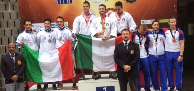 Paul Catanas, medaliat cu bronz la Campionatul Mondial WUKF