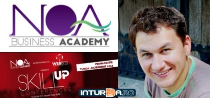 """Prima ediție a """"Skill Up Conferences"""" se desfășoară astăzi la Turda:"""