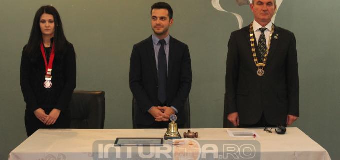 Robert Heler a primit distincția de Membru de Onoare al Clubului Rotary Turda