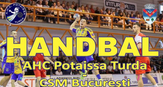 Toți turdenii iubitori ai sportului sunt așteptați mâine la meciul dintre Potaissa Turda și CSM București