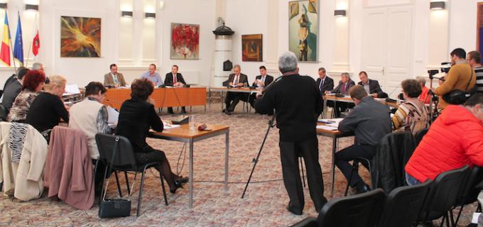 Ordinea de zi a şedinţei ordinare a Consiliul Local al Municipiului Turda din data de 25.02.2016