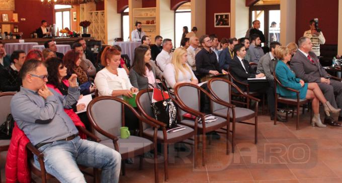 Conferinta Skill-Up a fost un eveniment de exceptie pentru oamenii de afaceri turdeni