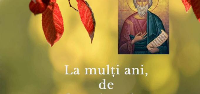 """Cristian Matei: """"La mulți ani tuturor celor care poarta numele sfintei sărbători"""""""