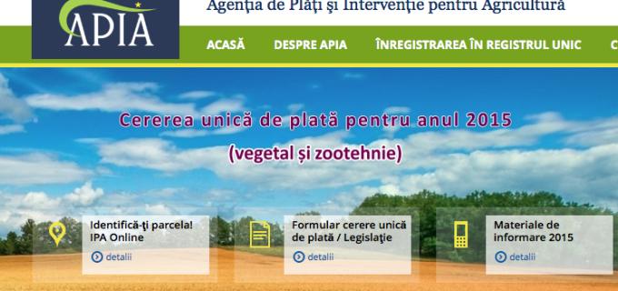 Centrul Local APIA Turda: Fermierii vor primi avansul de 53 de euro pe hectar din plățile directe pe suprafață