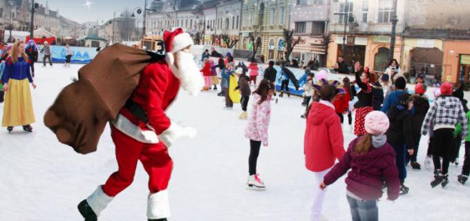 Duminică se dă startul distracției pe patinoarul de la Turda