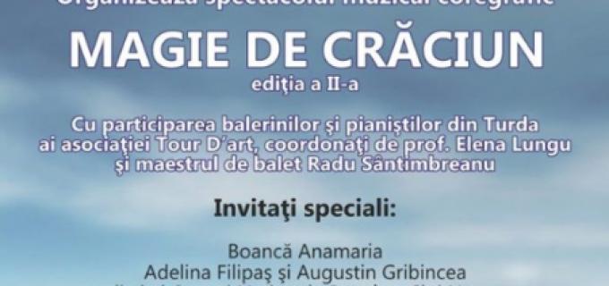 """Magie de Crăciun la Teatrul """"Aureliu Manea"""" Turda, astăzi de la ora 17:00"""
