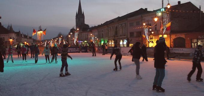 Turdenii se vor bucura anul acesta de un patinoar mai mare!