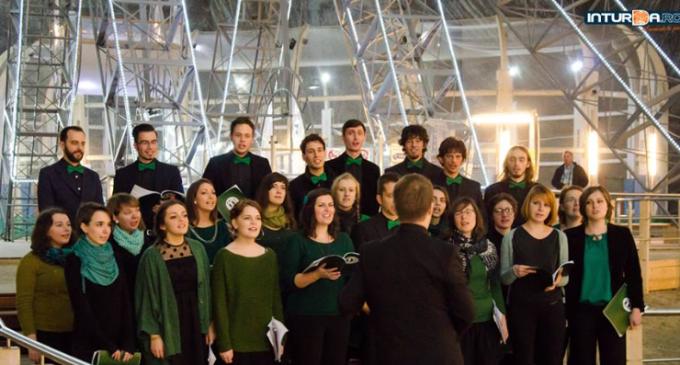 VIDEO: Concert extraordinar susținut de Corul Melodeus și Cvartetul Vocal Cantoribus la Salina Turda
