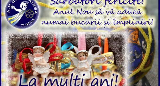 A.H.C POTAISSA TURDA: Sărbători fericite! Anul Nou să vă aducă numai bucurii și împliniri