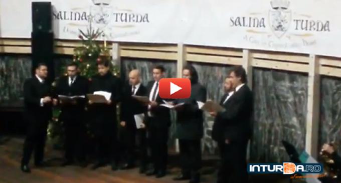 VIDEO: Peste 300 de persoane au asistat la Regalul de colinde sustinut la Salina Turda