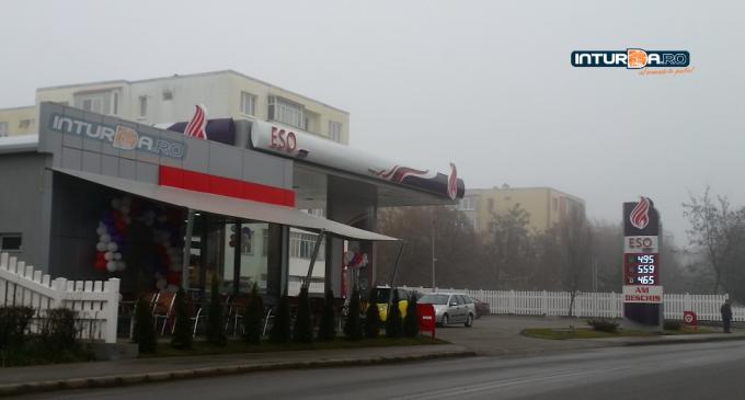 S-a deschis stația de carburanți auto de pe Calea Victoriei. Vezi care sunt prețurile ESO Petrol
