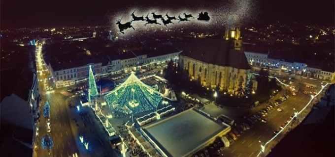 Târgul de Crăciun de la Cluj se deschide azi, 1 Decembrie 2015!