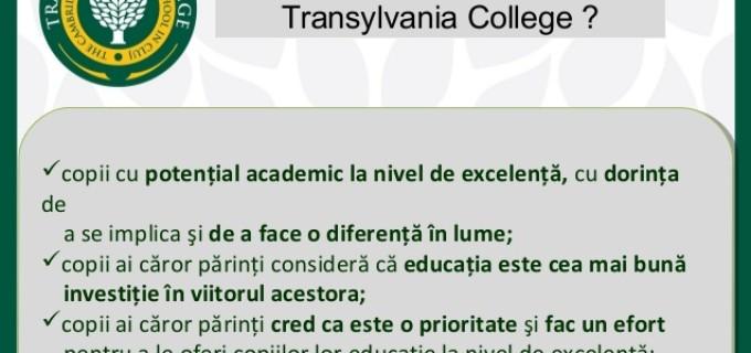 Transylvania College a ajuns în top 4 cele mai bune școli internaționale britanice din lume!
