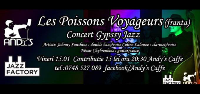 """Concert de muzică Blues la Cafeneaua """"Andy's Caffe"""""""