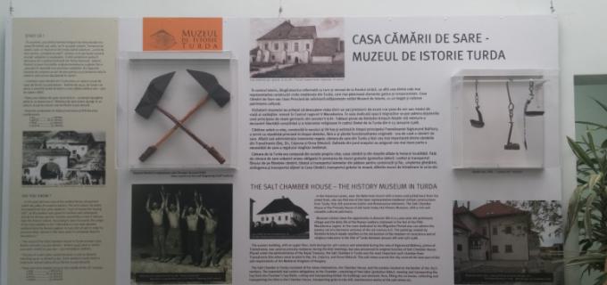Promovarea Muzeului de Istorie la Salina Turda