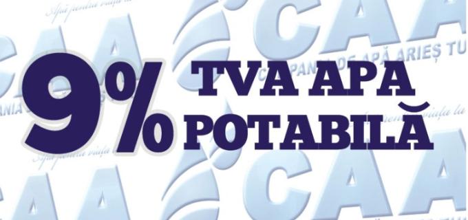 Compania de Apă Arieș: Anul 2016 începe cu reduceri la prețurile serviciilor prestate
