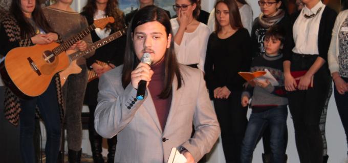 """VIDEO: """"EMINESCIANA"""" – spectacol de poezie şi muzică clasică la Primăria Municipiului Turda"""