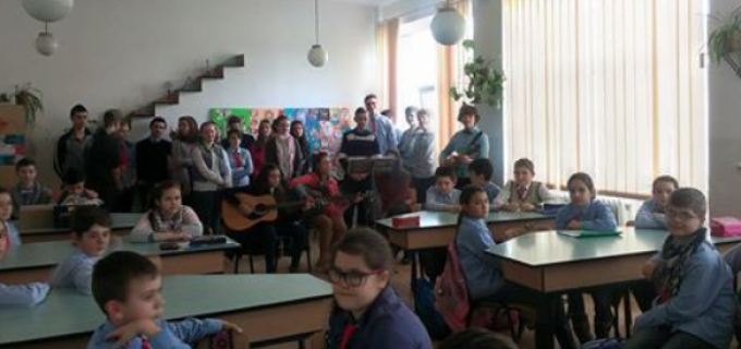 """Ziua marelui Eminescu a fost sărbătorită în cadrul Școlii Gimnaziale """"Ioan Opriș"""""""