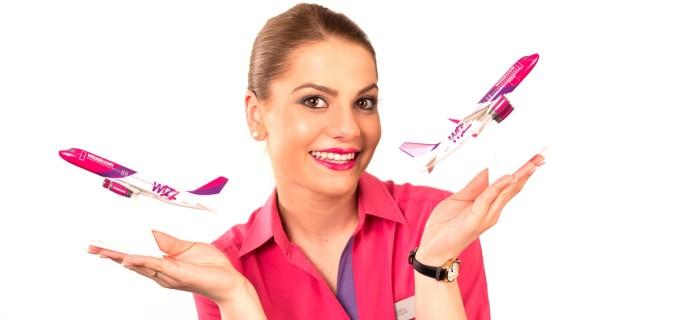 Wizz Air vinde bilete de avion Cluj-București de la 17 Euro