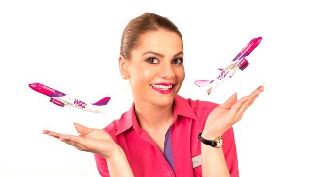 Wizz Air angajează însoțitori de zbor pentru Cluj și alte 5 orașe