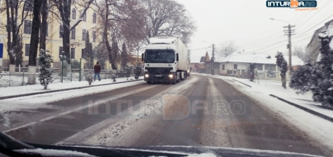 Situaţia drumurilor judeţene – 3 ianuarie 2017
