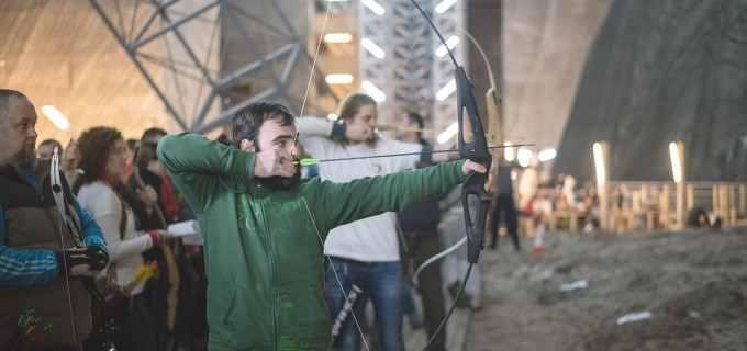 Galerie FOTO: Concursul de tir cu arcul din Salina Turda, editia a II-a