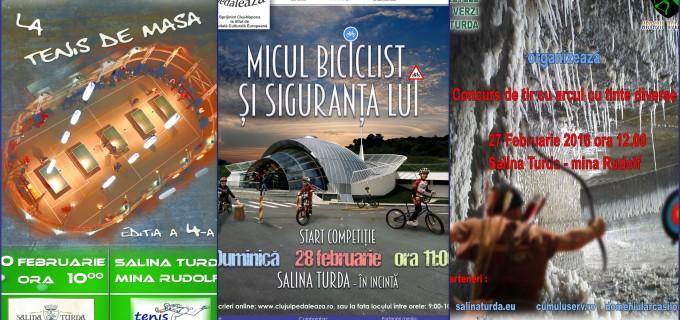 Februarie – luna competitiilor sportive la Salina Turda