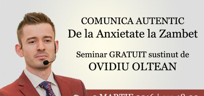 Skill Up Turda: Seminar gratuit despre comunicare si public speaking