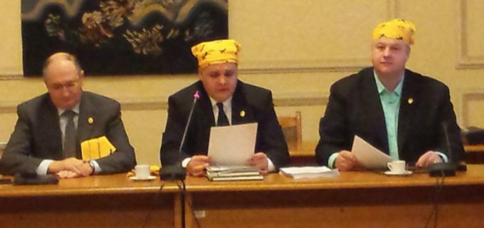 Mircea Irimie a participat la o campanie de solidaritate față de pacienții bolnavi de cancer