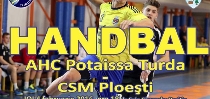 Potaissa Turda vs. CSM Ploiești, deseară la orele 18:00