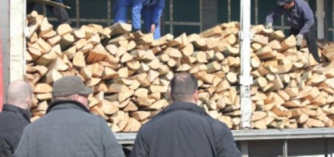 Transport ilegal de material lemnos la Turda