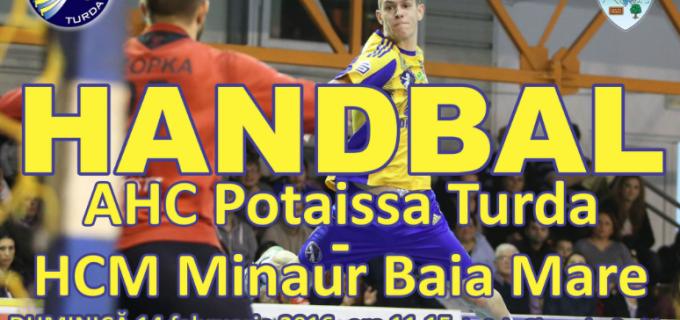 Derby de dragobete la Turda: Potaissa vs. HCM Baia Mare