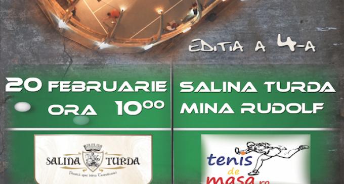Cupa Salina Turda la tenis de masă ajunsă la a IV-a ediție! Pot participa și jucători fără leigitimații FRTM